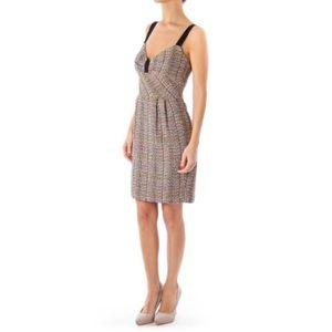Trina Turk Dresses - Trina Turk tweed multicolor sweetheart dress